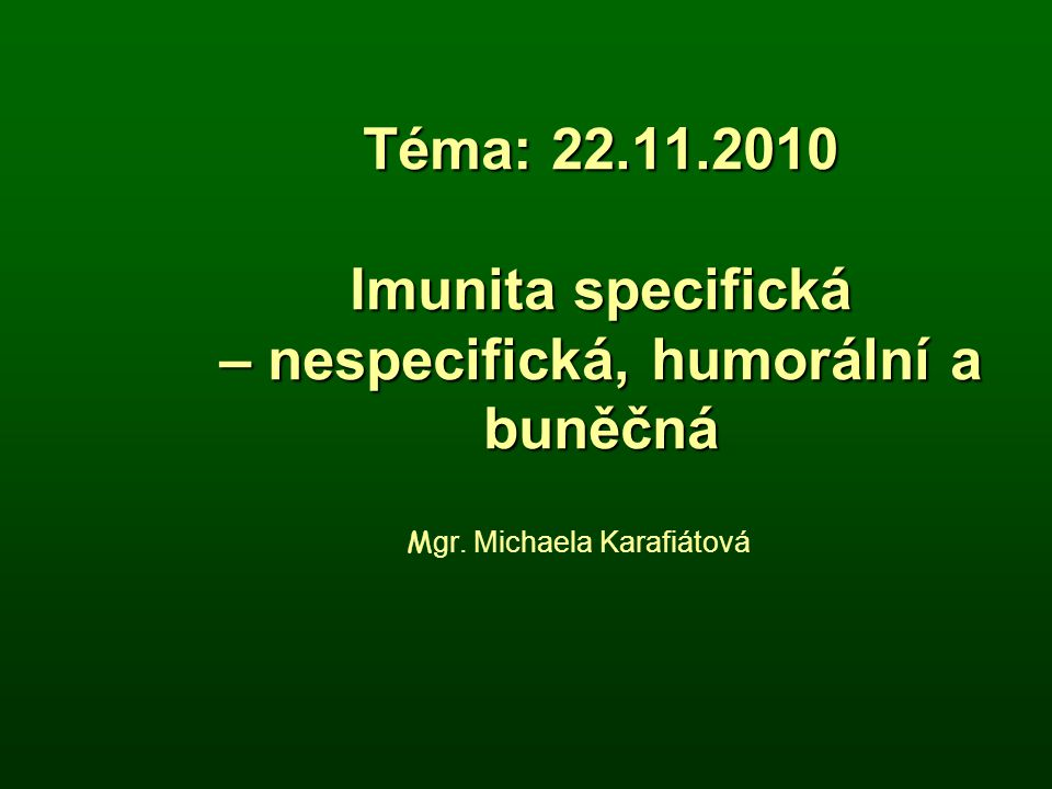 Mgr. Michaela Karafiátová
