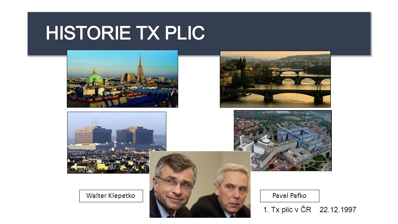 HISTORIE TX PLIC Walter Klepetko Pavel Pafko