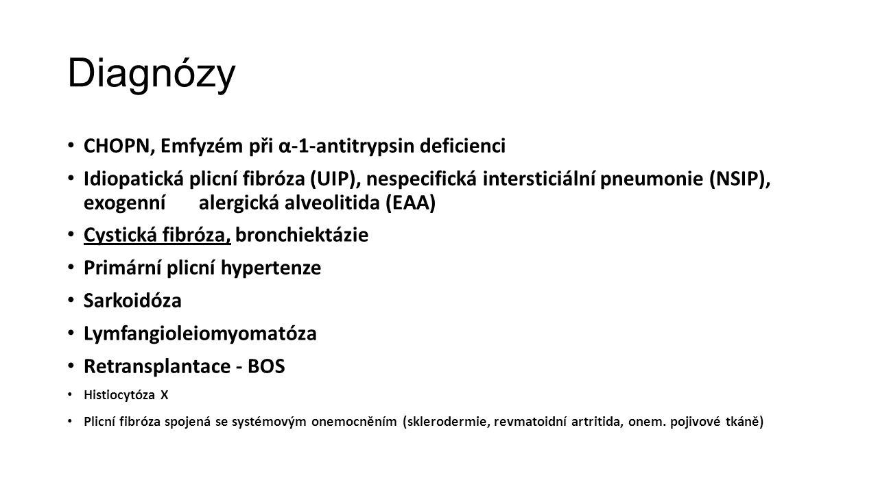Diagnózy CHOPN, Emfyzém při α-1-antitrypsin deficienci