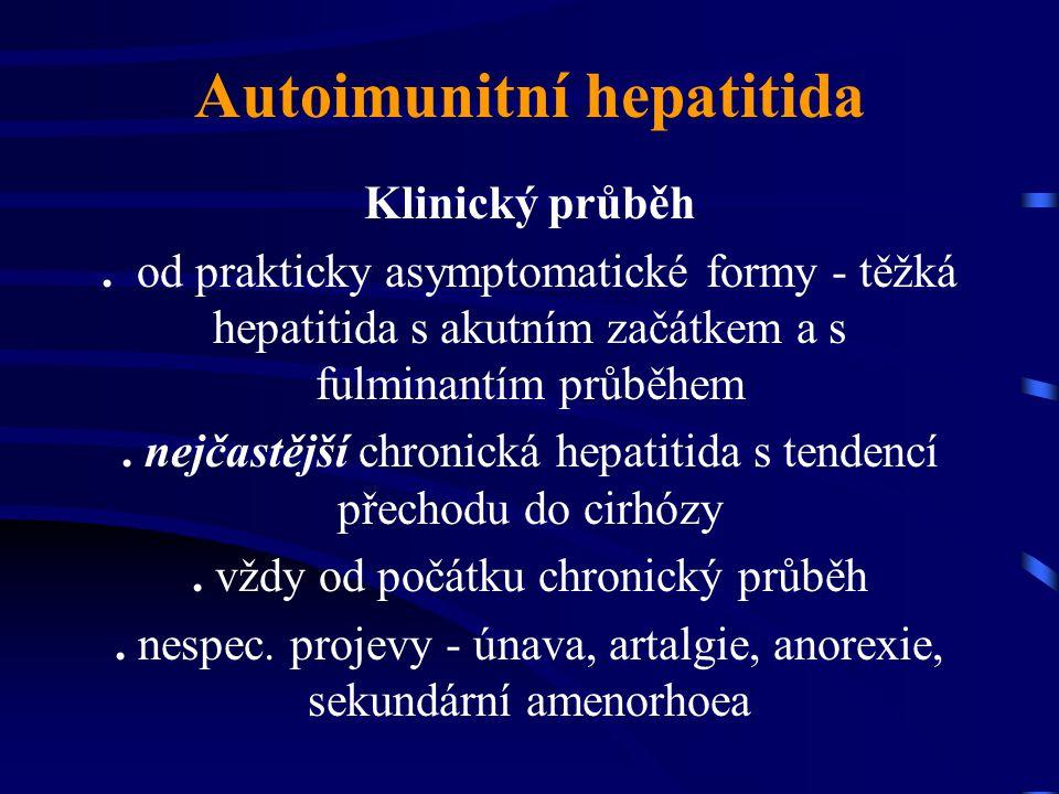 Autoimunitní hepatitida