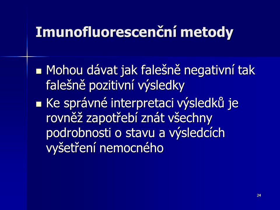Imunofluorescenční metody