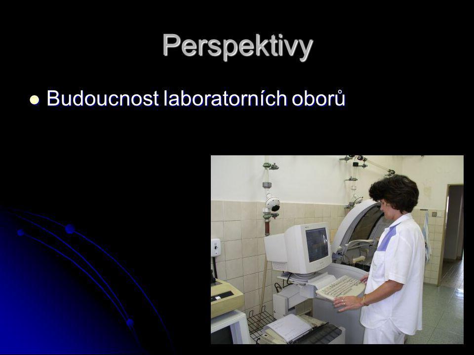 Perspektivy Budoucnost laboratorních oborů