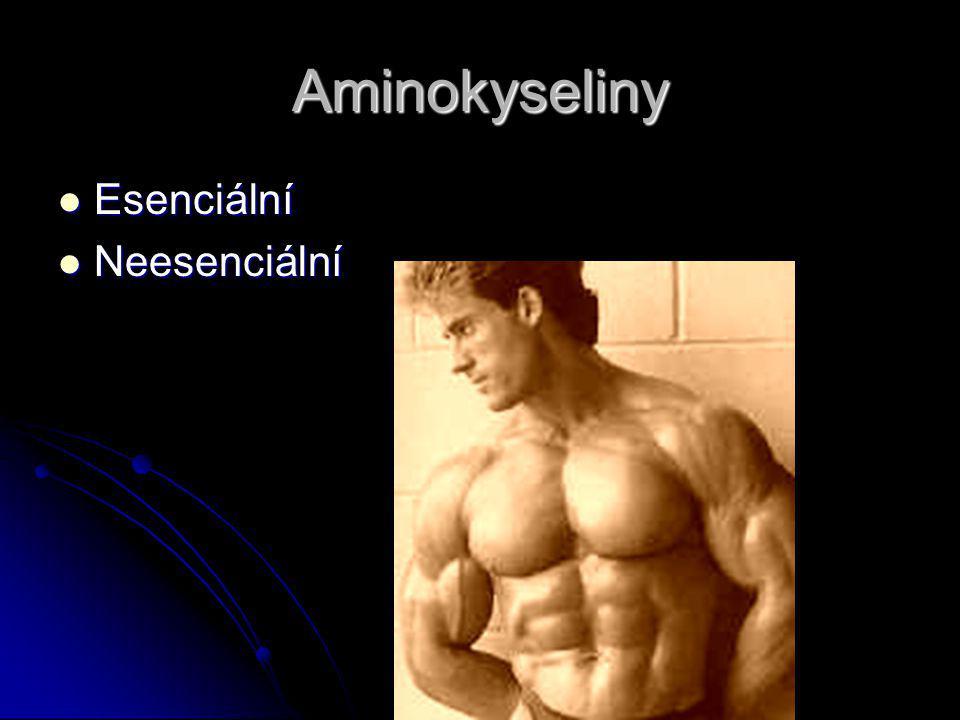 Aminokyseliny Esenciální Neesenciální