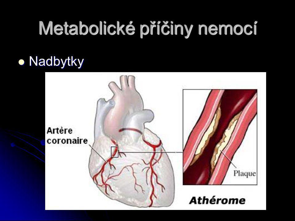 Metabolické příčiny nemocí