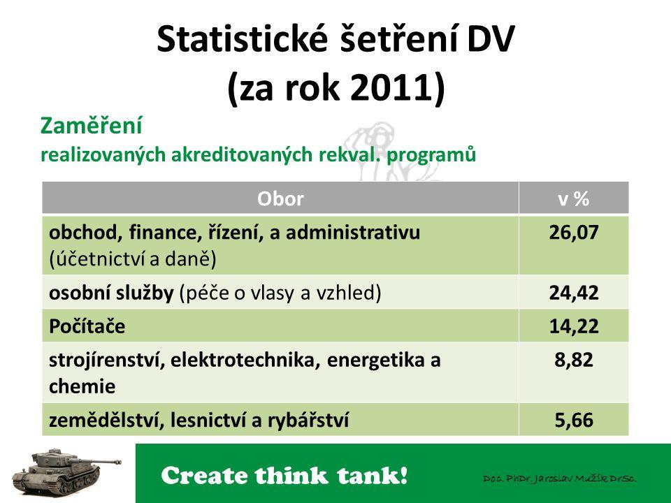 Statistické šetření DV (za rok 2011)