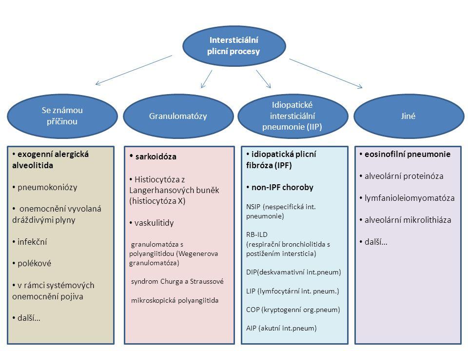 Intersticiální plicní procesy