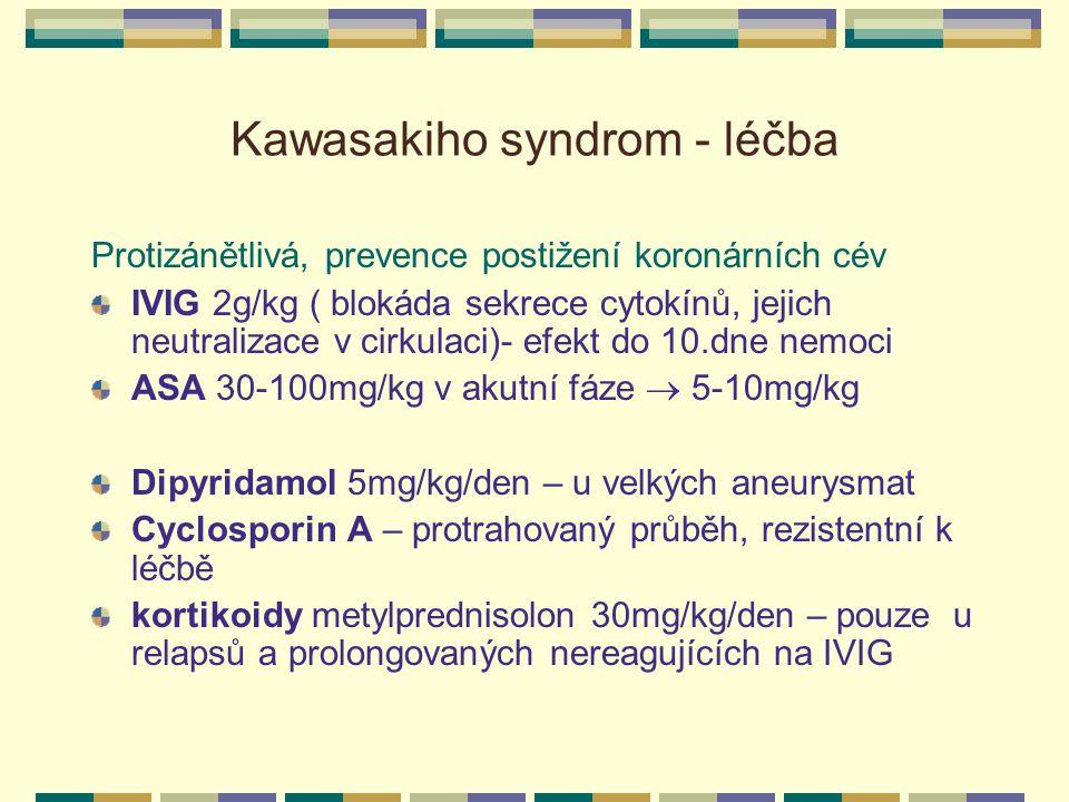 Kawasakiho syndrom - léčba