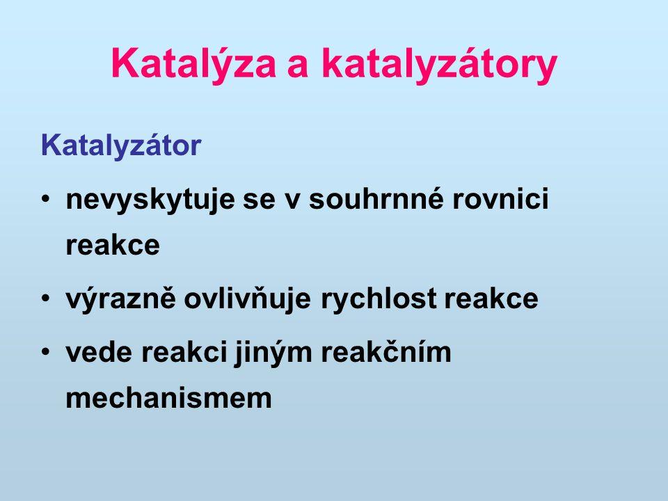 Katalýza a katalyzátory
