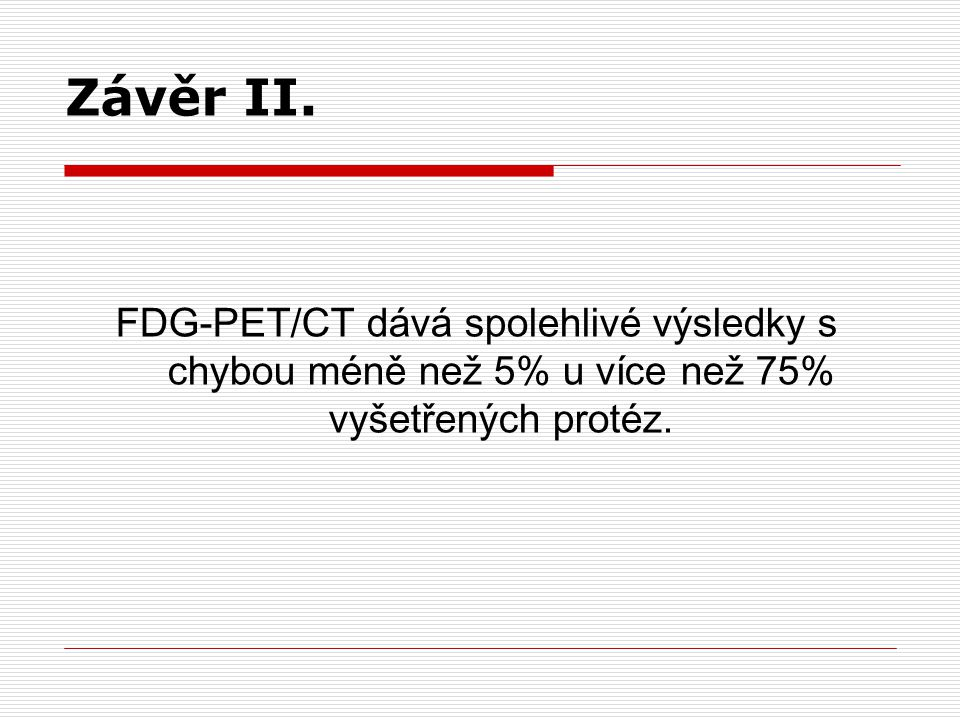Závěr II.