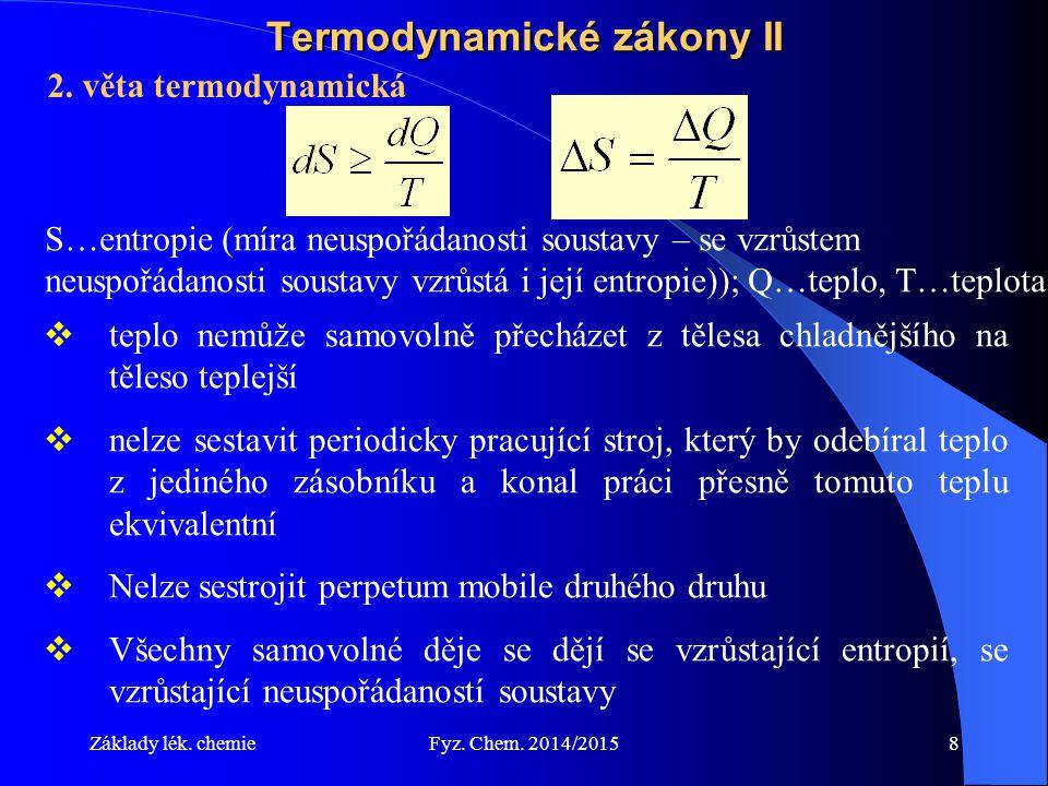 Termodynamické zákony II