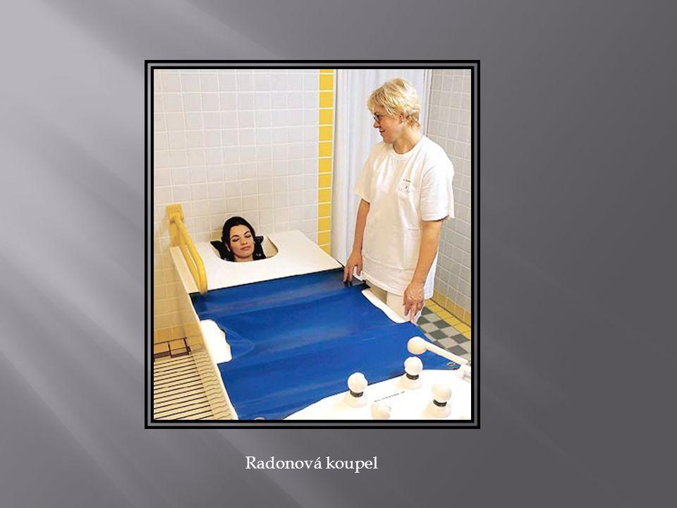 Radonová koupel