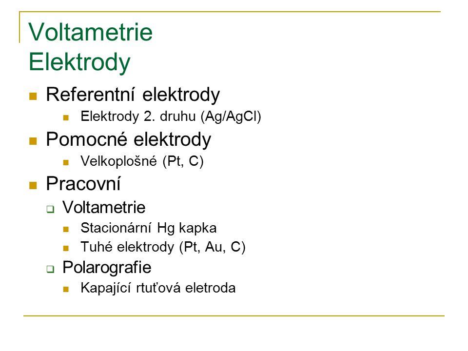 Voltametrie Elektrody