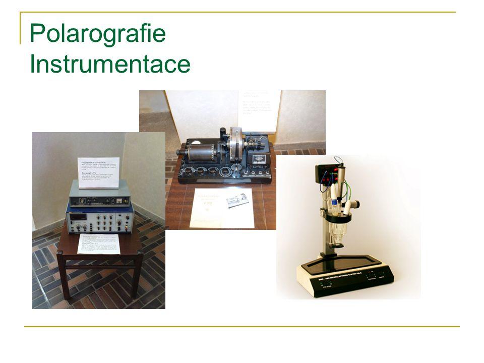 Polarografie Instrumentace