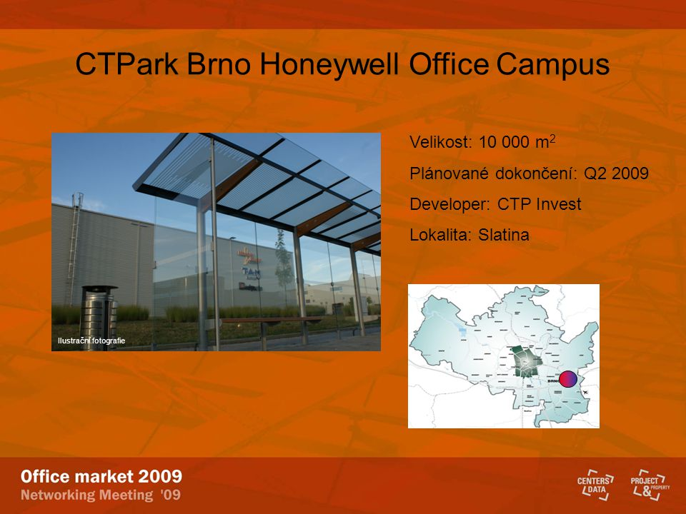 CTPark Brno Honeywell Office Campus