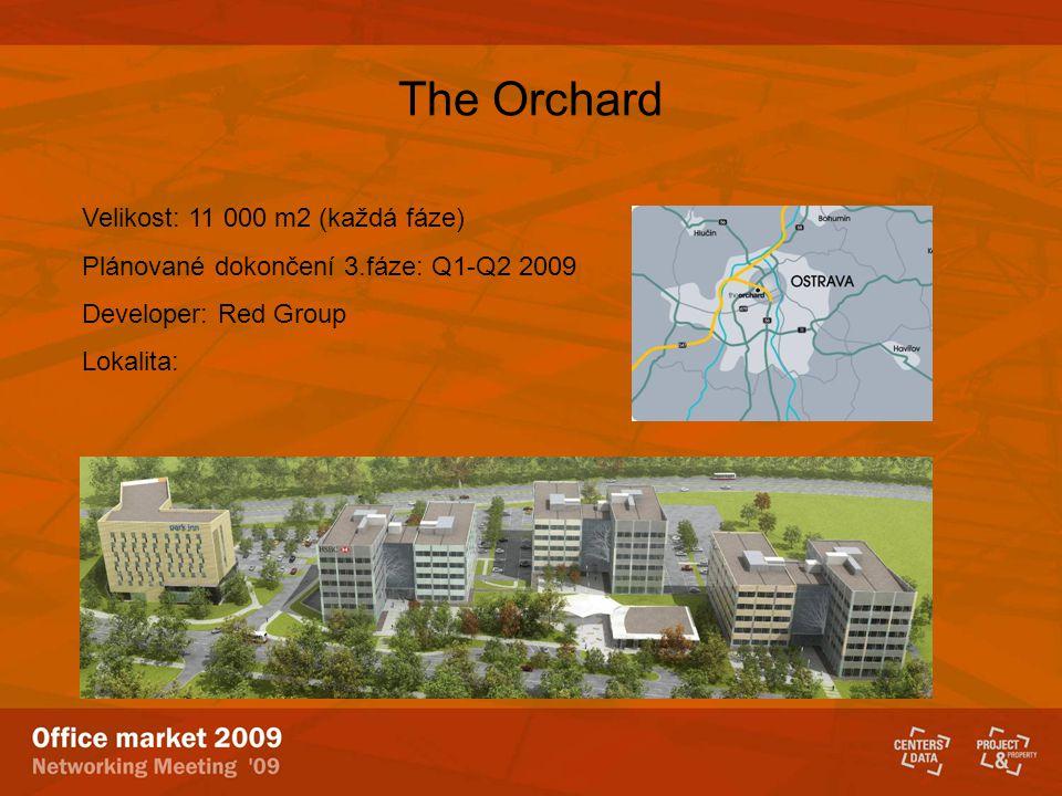 The Orchard Velikost: 11 000 m2 (každá fáze)