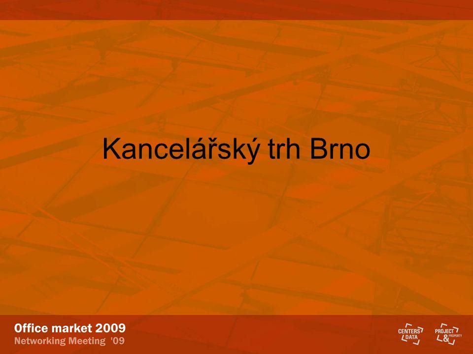 Kancelářský trh Brno