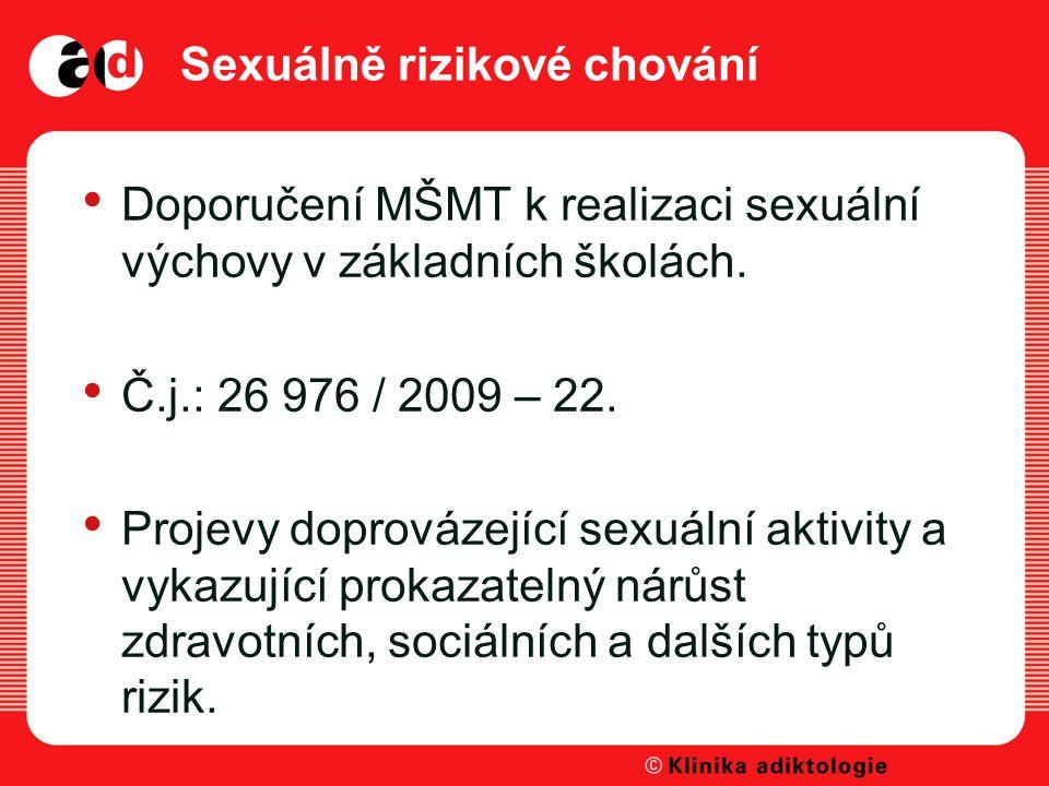 Sexuálně rizikové chování