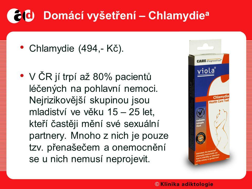 Domácí vyšetření – Chlamydiea