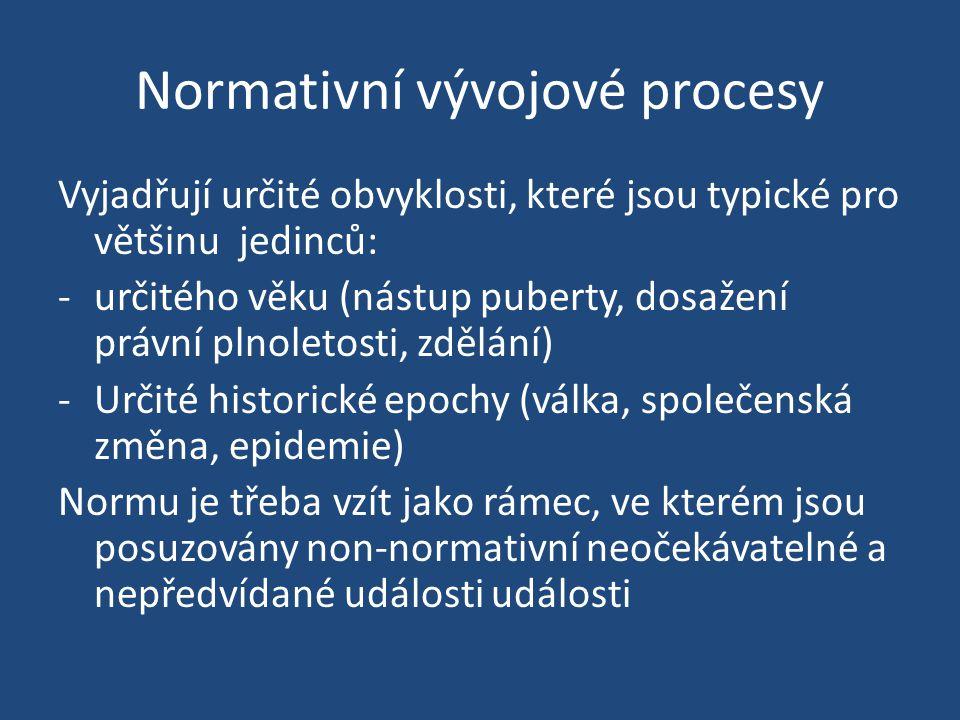 Normativní vývojové procesy