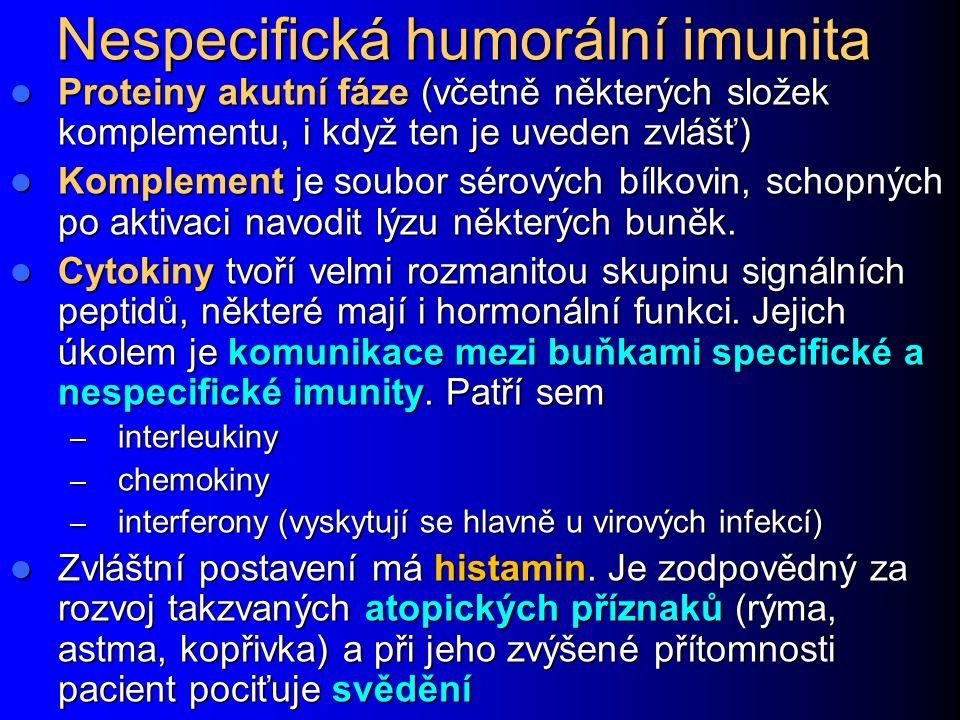 Nespecifická humorální imunita