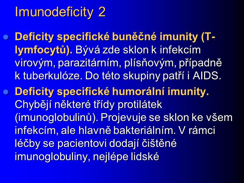 Imunodeficity 2