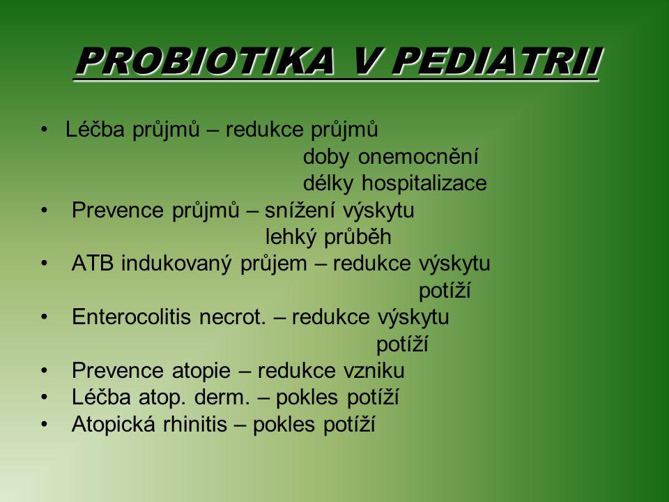 PROBIOTIKA V PEDIATRII