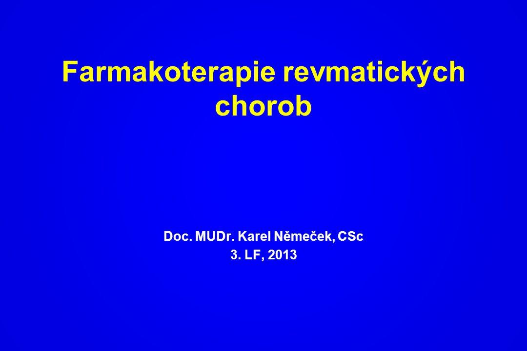 Farmakoterapie revmatických chorob
