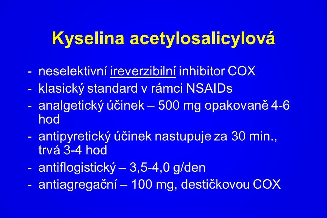Kyselina acetylosalicylová