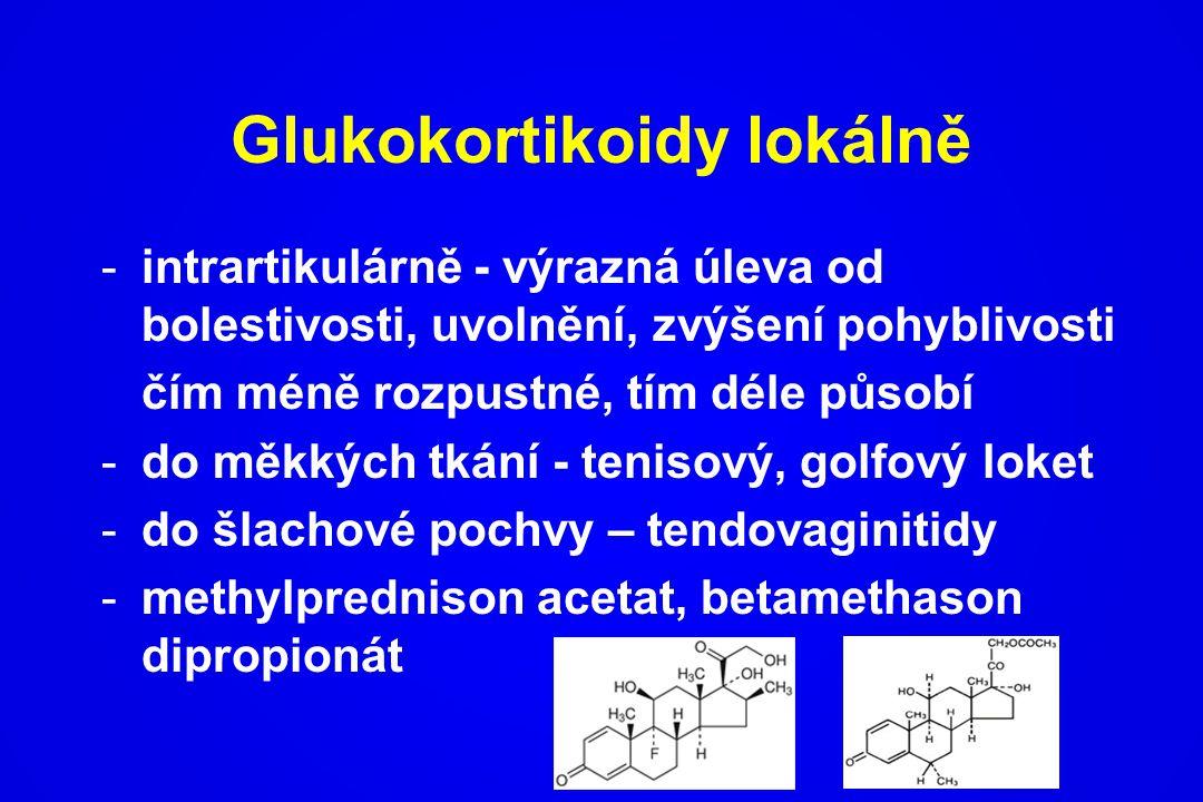 Glukokortikoidy lokálně