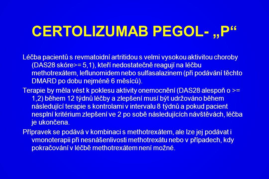 """CERTOLIZUMAB PEGOL- """"P"""
