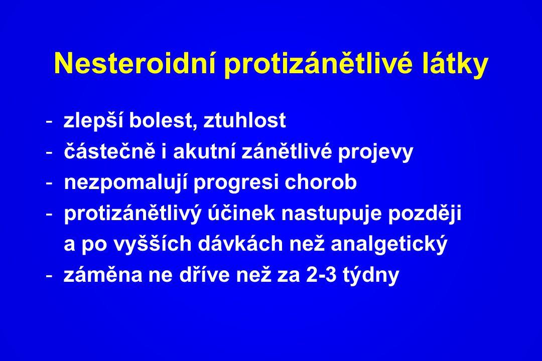 Nesteroidní protizánětlivé látky