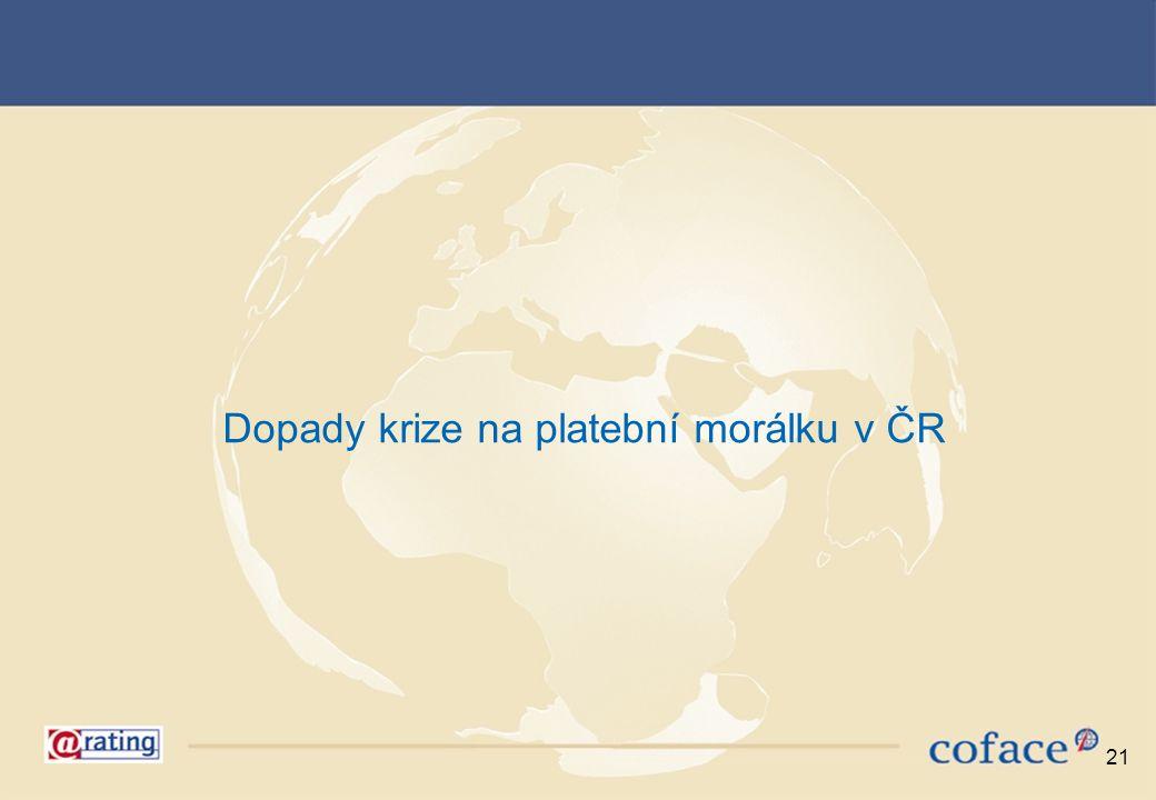 Dopady krize na platební morálku v ČR