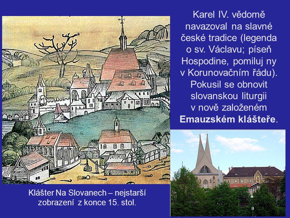 v Korunovačním řádu). Pokusil se obnovit slovanskou liturgii