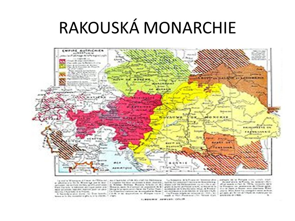 RAKOUSKÁ MONARCHIE
