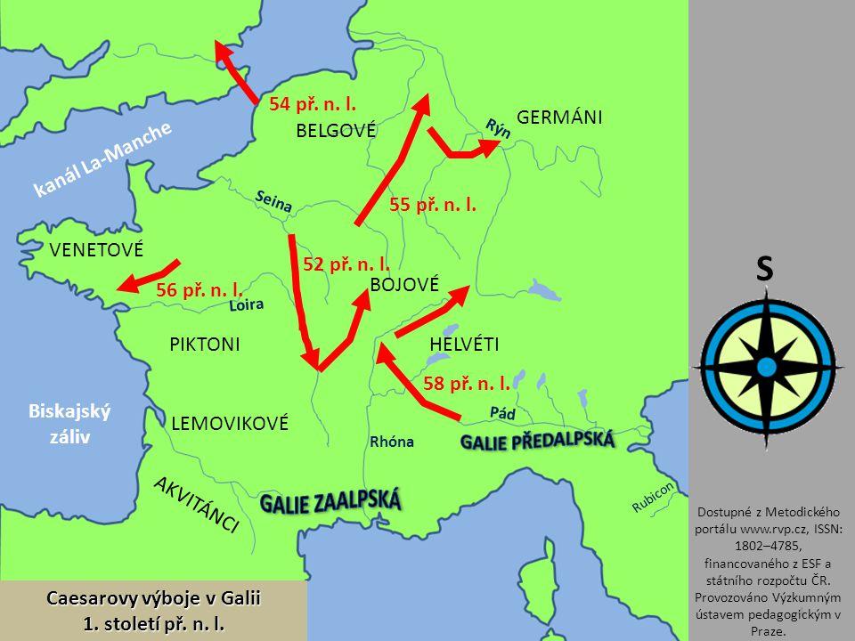 Caesarovy výboje v Galii
