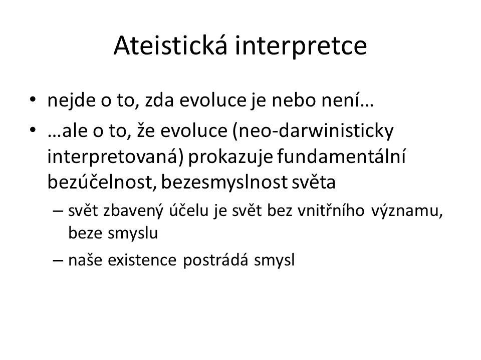 Ateistická interpretce