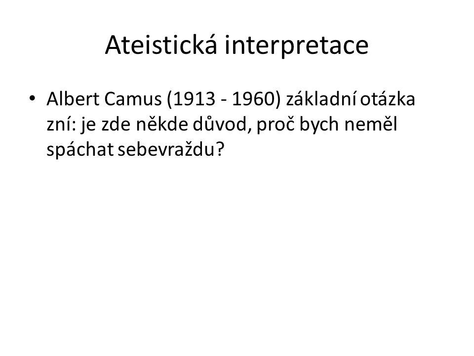 Ateistická interpretace