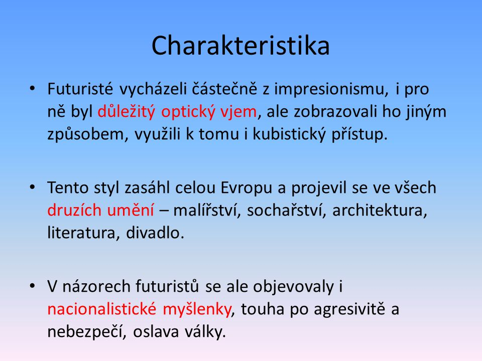 Charakteristika