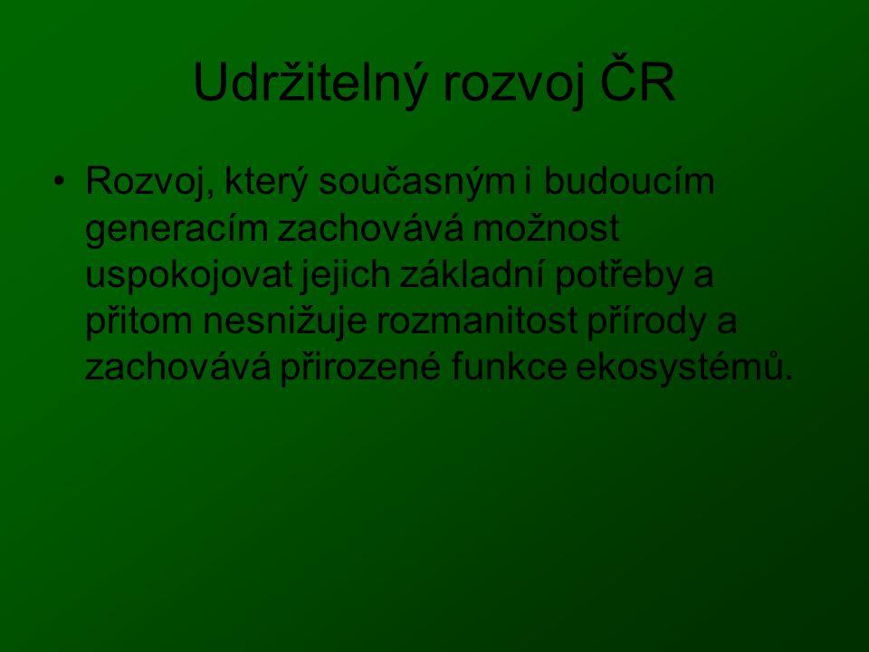 Udržitelný rozvoj ČR