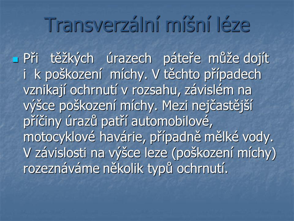 Transverzální míšní léze