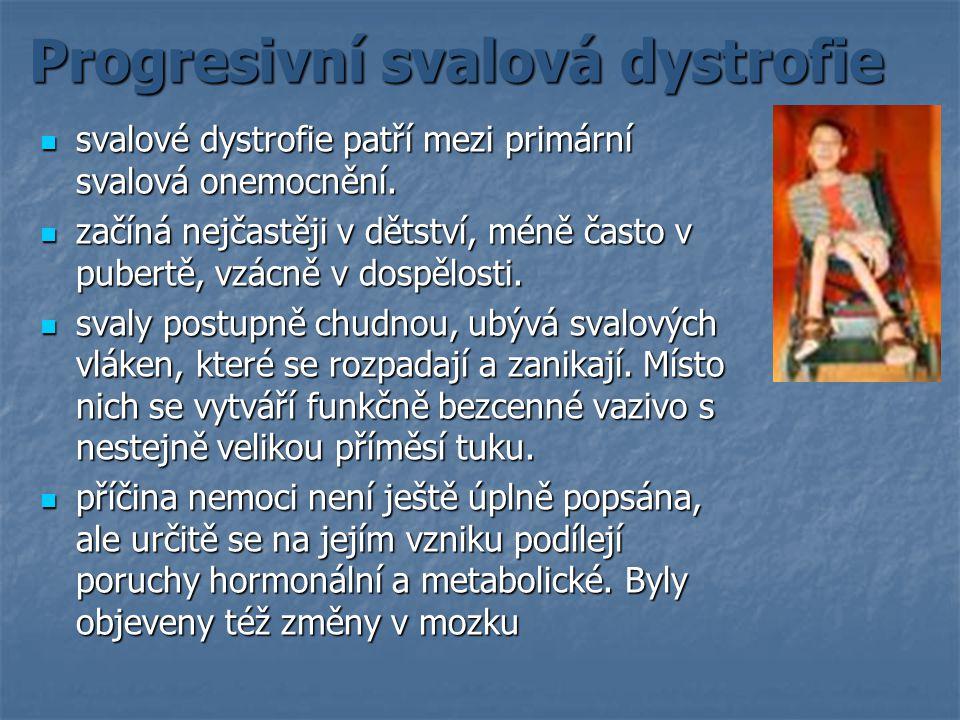 Progresivní svalová dystrofie