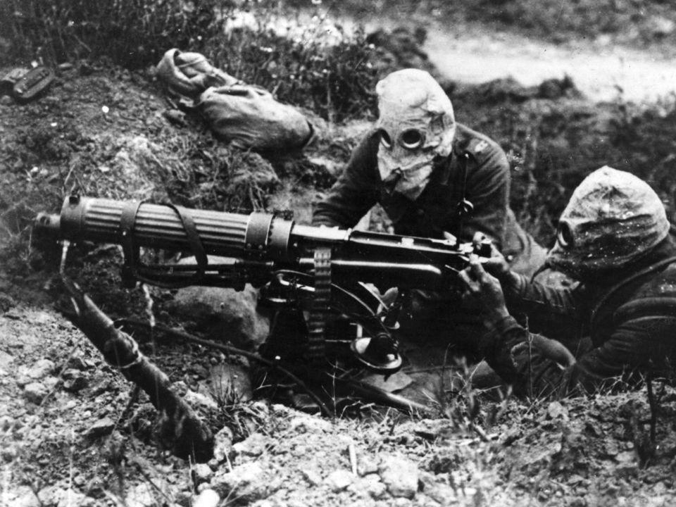 První světová válka Nové prostředky: