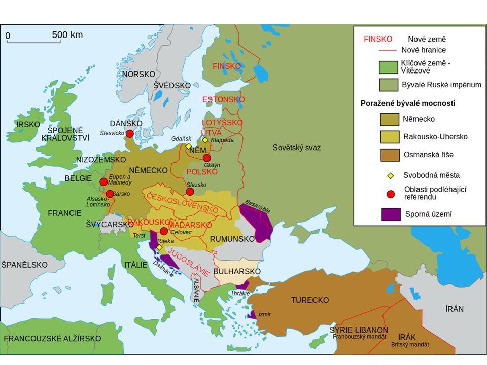 Evropa po válce Nové prostředky: