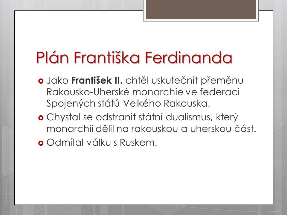 Plán Františka Ferdinanda
