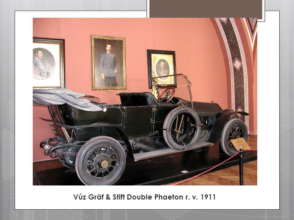 Vůz Gräf & Stift Double Phaeton r. v. 1911