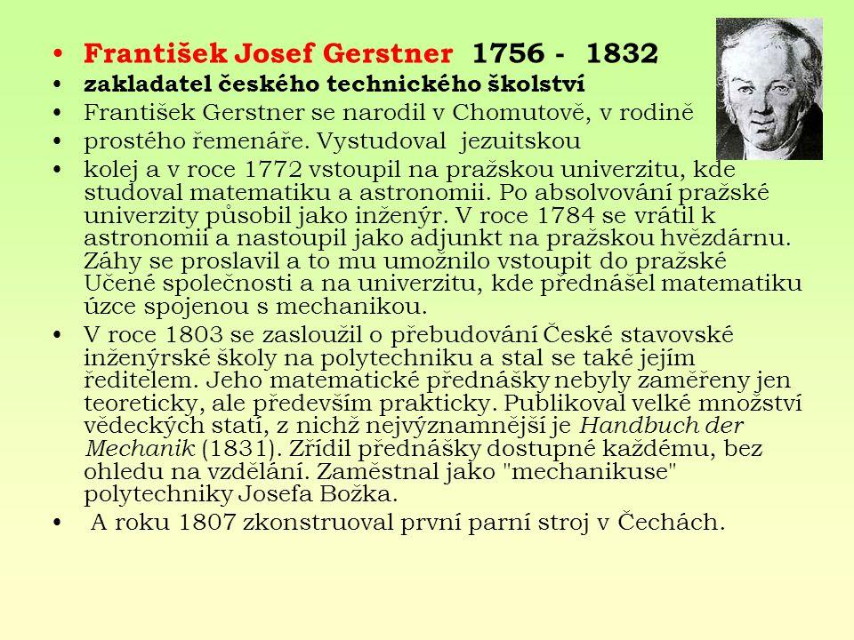 František Josef Gerstner 1756 - 1832