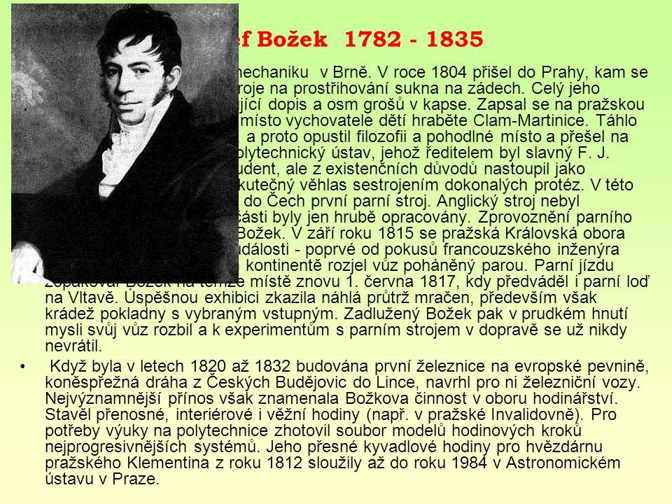 Josef Božek 1782 - 1835