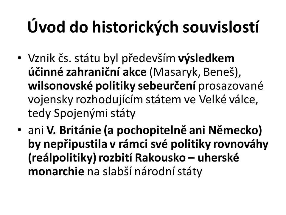 Úvod do historických souvislostí