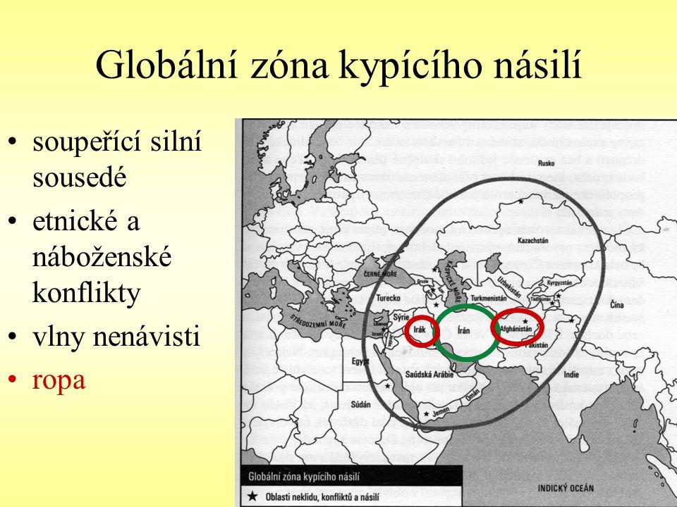 Globální zóna kypícího násilí