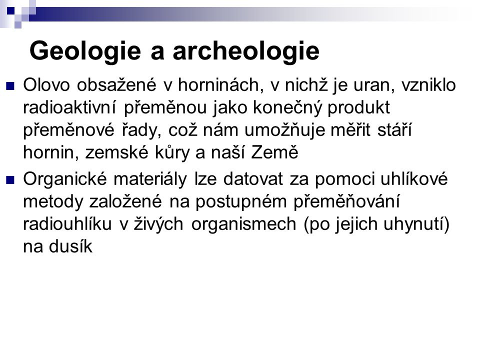 Geologie a archeologie